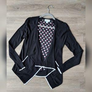 Elle   polkadot back cardigan with pockets